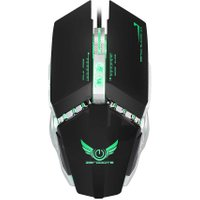 Professional ZERODATE X700 3200 DPI Adjustable Optical Programmable Gaming USB LED Wired Games Cable Mouse Mice